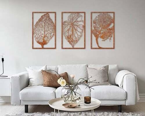 quadros sofisticados artesanais para sala