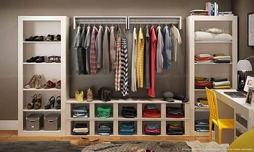 closet grande modulado e armado