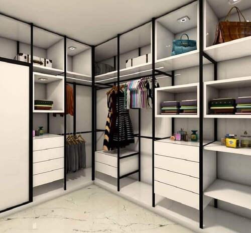 closet grande modulado para dois cantos