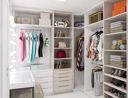 closet modulado branco