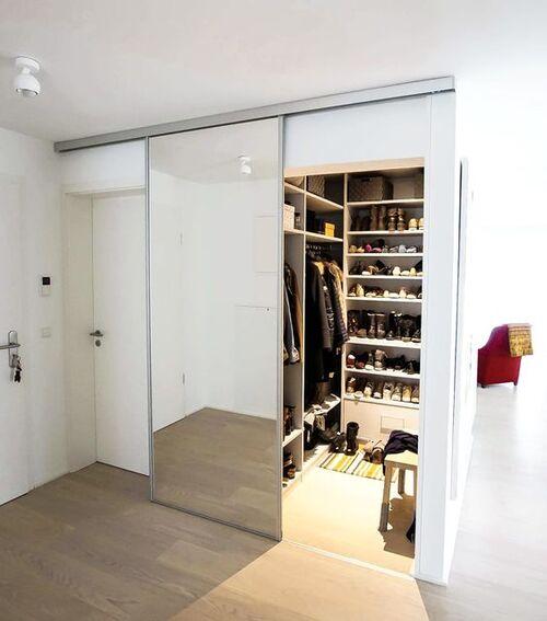 closet modulado com porta
