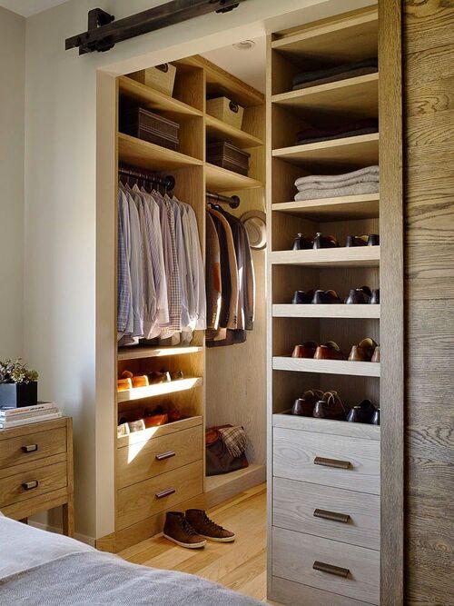 closet modulado para quarot de solteiro