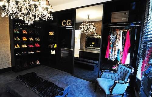 closet modulado preto