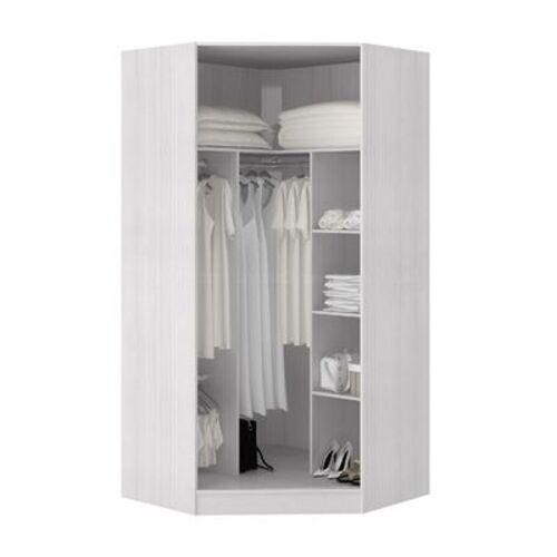 closet pequeno de canto com modulos